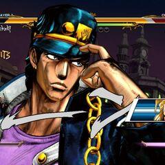 Jotaro taunting, <i>ASB</i>
