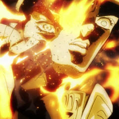 Jotaro's death at the hands of Bites the Dust.