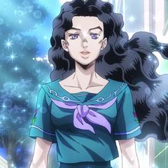 Yukako radiates a loving warmth after her beauty treatment.