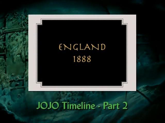 JoJo's Bizarre Adventure Part 1 & 2 Timeline (Part 2)