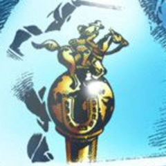 The trophy of the Steel Ball Run