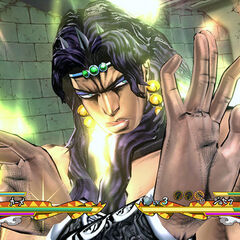 Kars during a Dual Combo, <i>Eyes of Heaven</i>