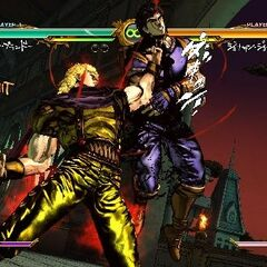 Dio using his