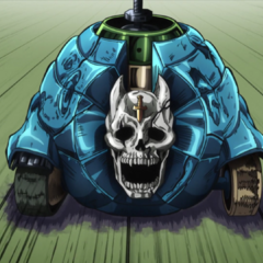 Sheer Heart Attack speeding towards its target.