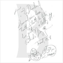 The Pedant and the Shuffly autograph 002