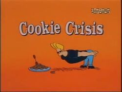 Cookie crisis title card