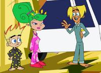 Johnny, Jillian, and Gil