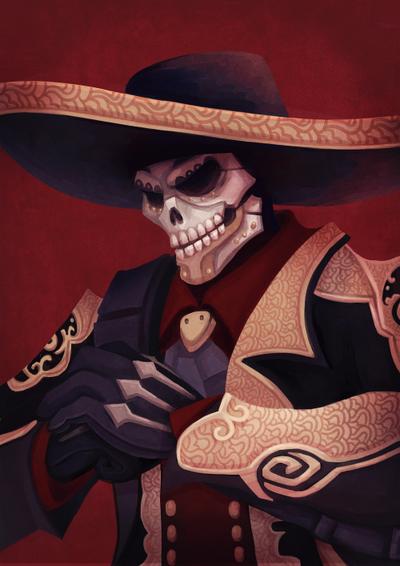 Skull mask badass