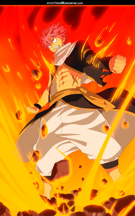 Natsu dragneel flames dragon king by kisi86-d9is732
