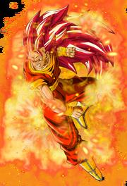 Super saiyan god 3 goku by elitesaiyanwarrior-d6g73e9