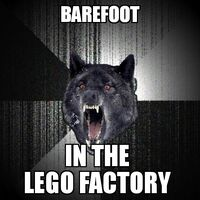 Insanity Wolf Lego Factory
