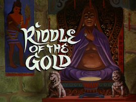 Riddle of the Gold title card