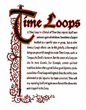 Time Loops (Sticker Version)