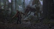 Grant escapes Spinosaur