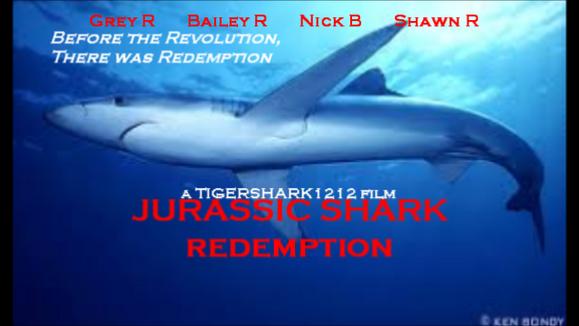 Jurassic Shark Redemption Final Poster
