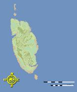 Isla Muerta map
