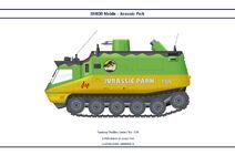 Jurassic Park SHADO Mobile