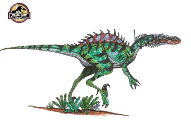 File:672px-JP Spinocharoraptor Rex by hellraptor.jpg