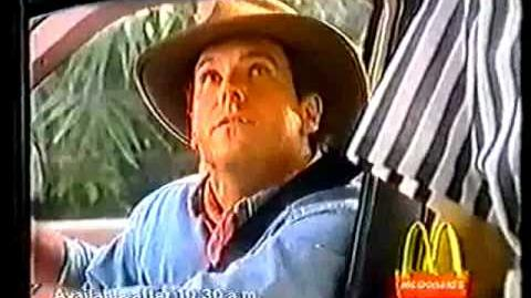 Jurassic Park macdonalds 1993 promotional commercial