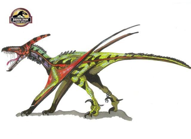File:672px-Jurassic Park Pteranoraptor by hellraptor.jpg