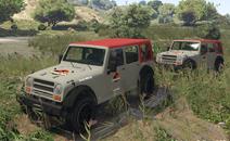 Jurassic Park Safari Jeeps