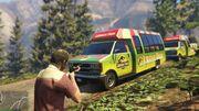 Jurassic Park Tour Buses