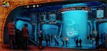 Jurassic Park Aquarium