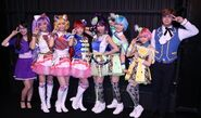 I☆Ris cosplaying for Pri Para Musical