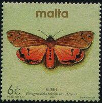 Malta 2002 Butterflies and Moths d