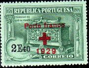 Portugal 1929 Red Cross - 400th Birth Anniversary of Camões f