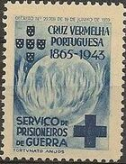 Portugal 1943 - Red Cross - Cinderellas Cinderella c