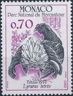 Monaco 1982 Birds from Mercantour National Park b