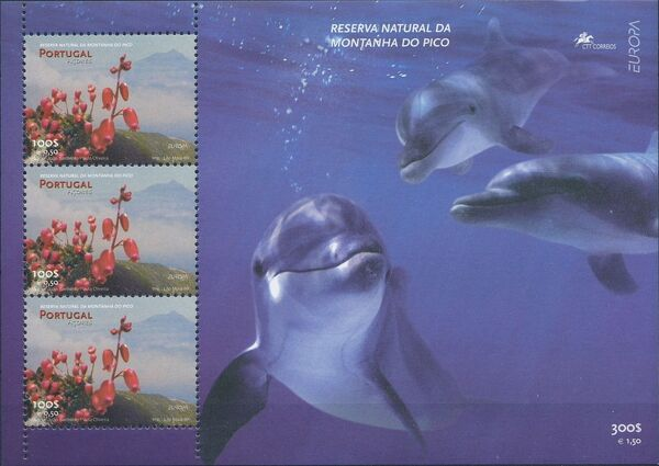 Azores 1999 EUROPA - Nature and National Parks c
