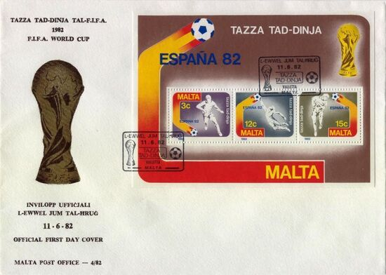 Malta 1982 F.I.F.A. World Cup - Spain h