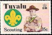 Tuvalu 1977 Scouting in Tuvalu 50th Anniversary d