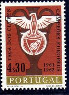 Portugal 1963 Benfica Club's Double Victory in European Football Cup Championship b