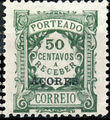 Azores 1922 Postage Due Stamps of Portugal Overprinted (1st Group) d.jpg