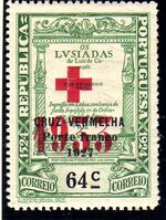 Portugal 1933 Red Cross - 400th Birth Anniversary of Camões c