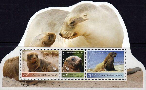 New Zealand 2012 New Zealand Sea Lion h