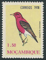 Mozambique 1978 Birds c