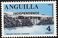 Anguilla 1969 Independence d