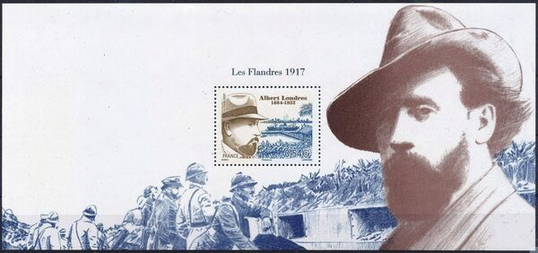 France 2007 75th Anniversary of the Death of Albert Londres, 1884-1932 e