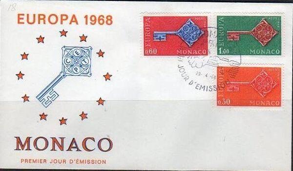 Monaco 1968 Europa e