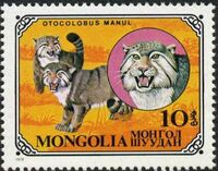 Mongolia 1979 Wild Cats a