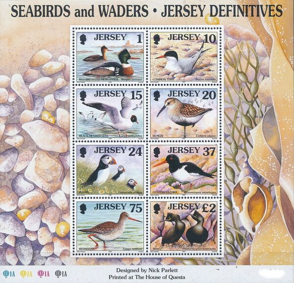 Jersey 1997 Seabirds and waders j