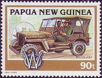 Papua New Guinea 1994 Classic Cars d