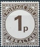 Gibraltar 1971 Postage Due Stamps b