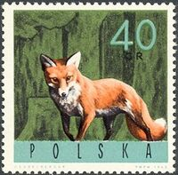 Poland 1965 Forest Animals c