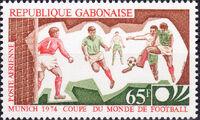 Gabon 1974 World Cup Soccer Championship b