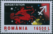 Romania 2001 The Signs of the Zodiac f